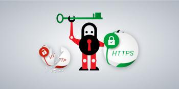 Image endorsing move to HTTPS from HTTP