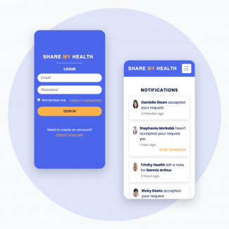 Share my health mobile